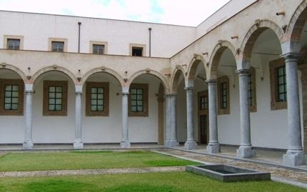 Lavori di edilizia Piazza Sant'Anna a Palermo