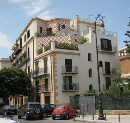 Restauro edificio Kalsa a Palermo