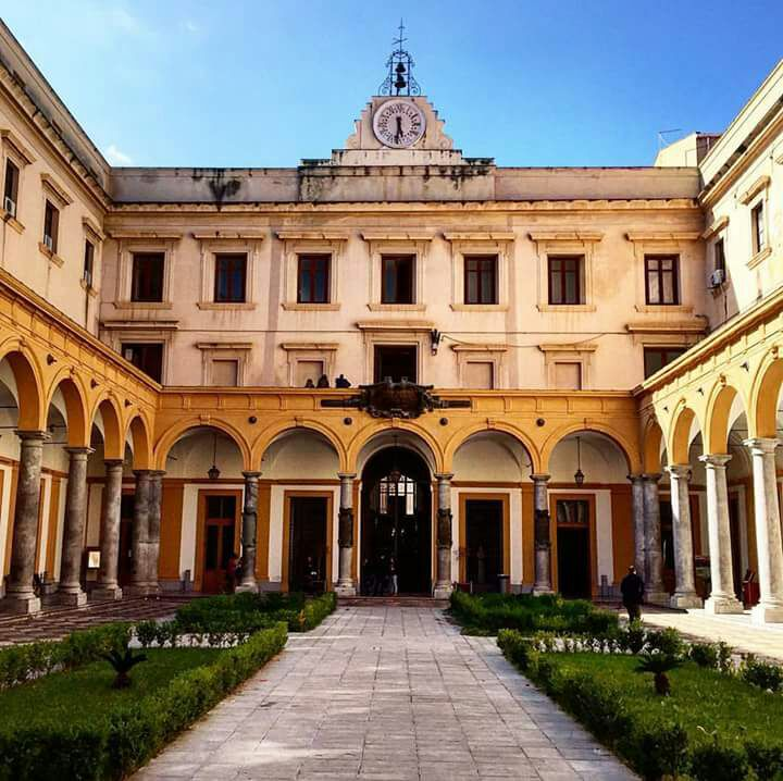 Lavori di edilizia nella sede di Giurisprudenza a Palermo