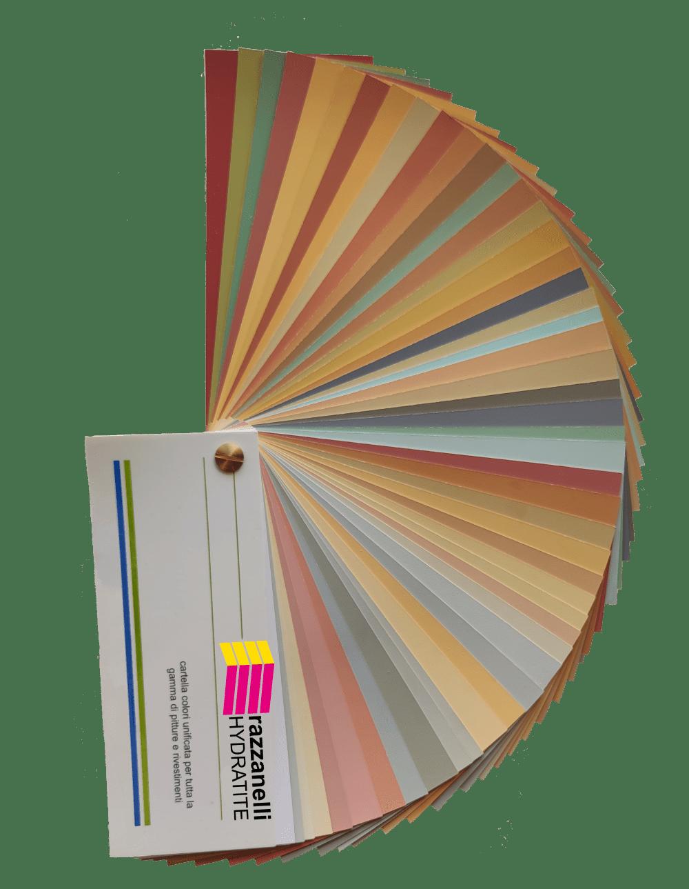 Palette colori per pitture e rivestimenti
